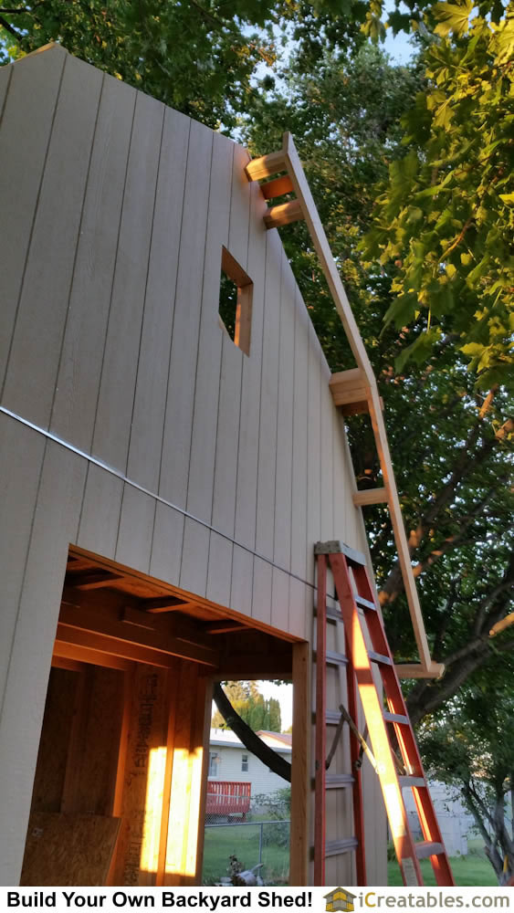 how to install barge rafter