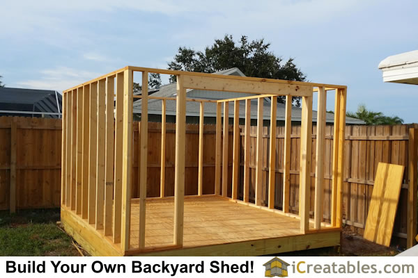 Pictures of backyard shed plans backyard shed photos for Garden shed 12x10