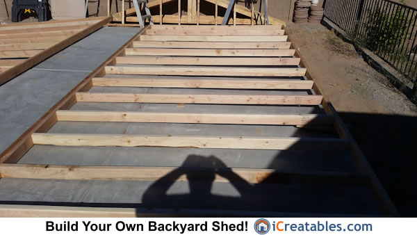 12x16 shed wall framing