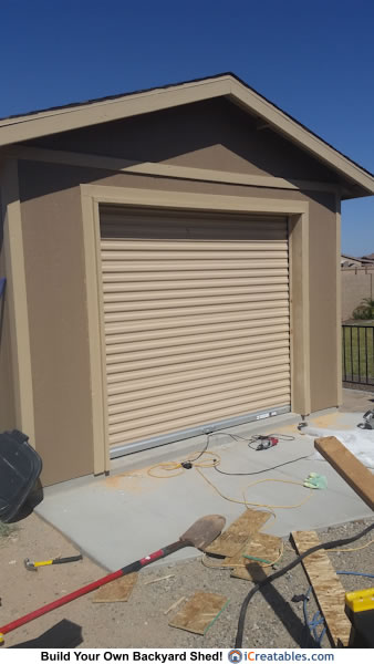 22 simple storage sheds with garage doors for 16 x 21 garage door panels
