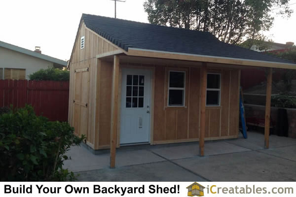 Garden shed photos pictures of garden sheds for Board and batten shed plans