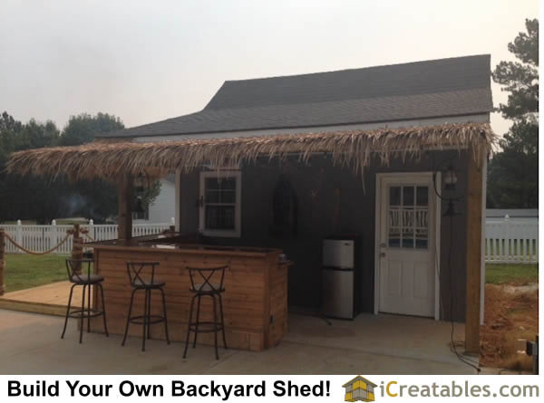 Backyard Shed Bar Plans Pump House Design Plans View Pas The Pump Station  And Into The