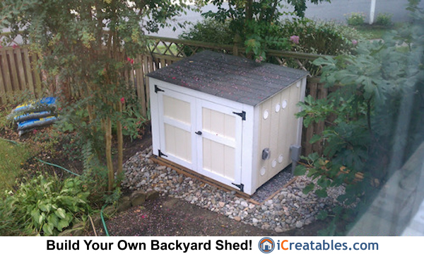 small generator enclosure plan
