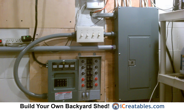 generator transfer switch setup