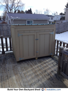generator enclosure shed plan