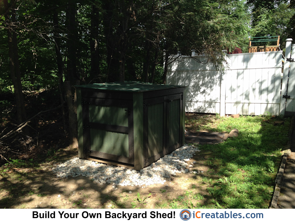large generator enclosure