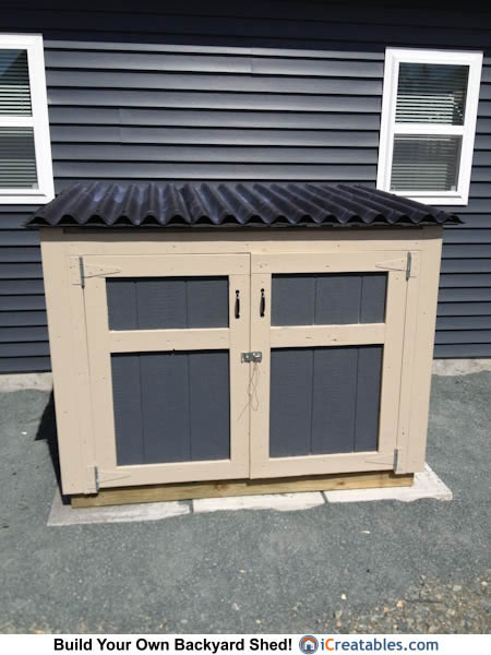 Portable Generator Enclosure : Generator shed plans portable enclosure designs