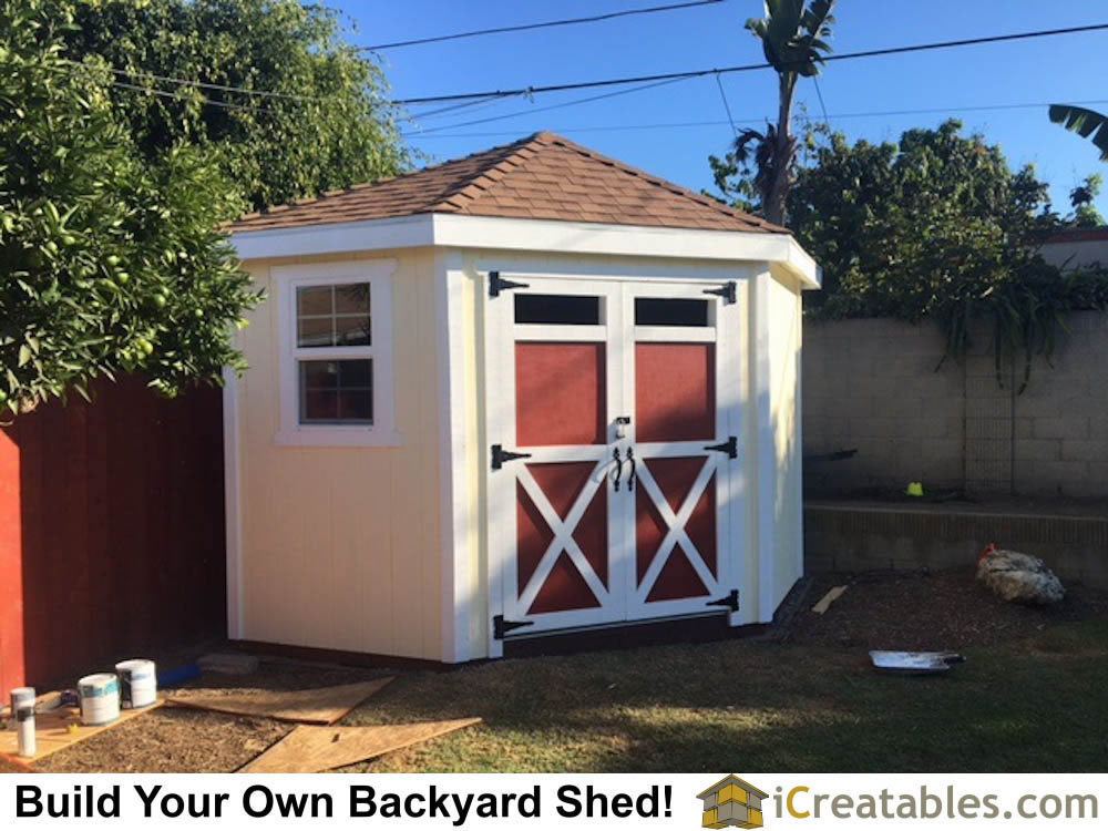Small Backyard Shed Ideas