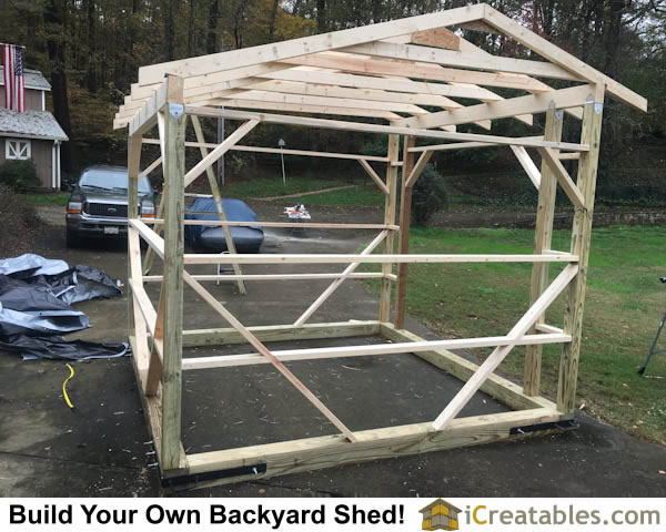 Horse barn and run in shed photos icreatables Horse run in shed plans design