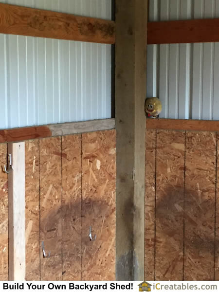 Inside Horse Barn horse barn and run in shed photos | icreatables