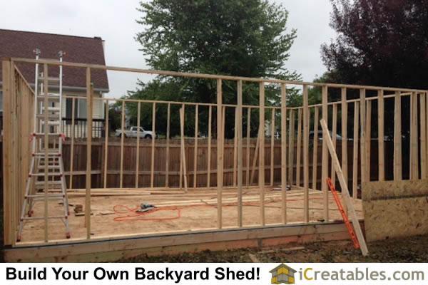 Large Backyard Shed Photos Icreatables Com Shed Plans
