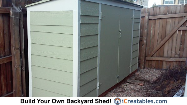 3x10 lean to shed plan