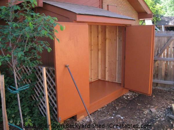 lean to shed plans easy to build diy shed designs. Black Bedroom Furniture Sets. Home Design Ideas