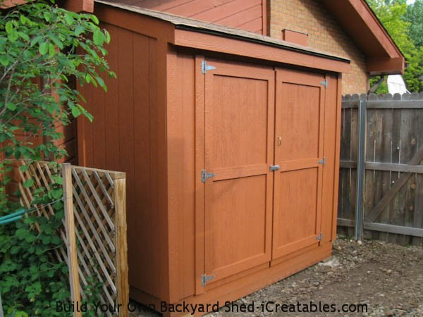 Lean to shed plans easy to build diy shed designs - Garden sheds with lean to ...