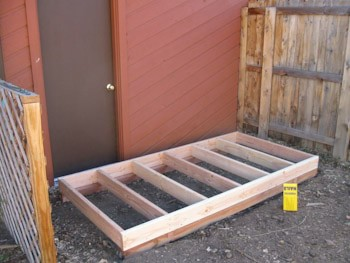 shed floor framing