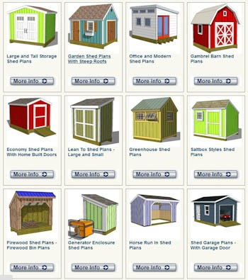12 shed plans