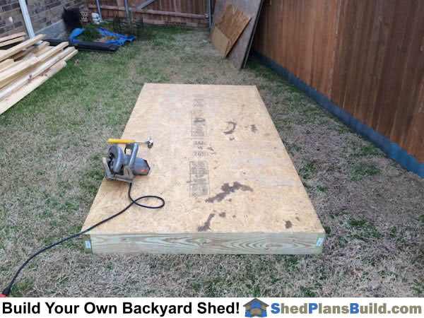 Pictures of lean to sheds photos of lean to shed plans for Garden shed floor ideas