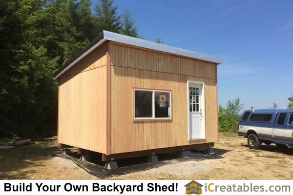 12x16 Studio Shed Completed.