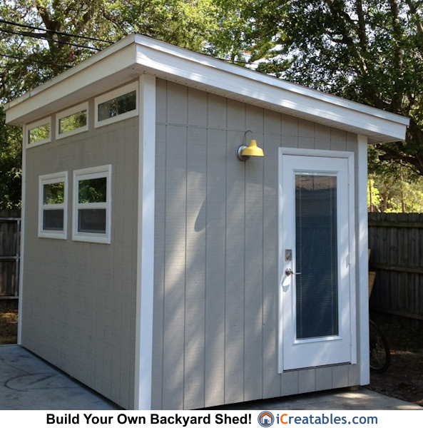 Pictures of modern sheds modern shed photos for Modern shed