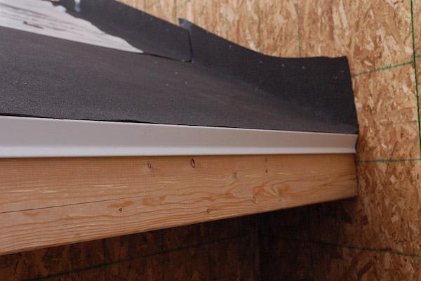 Install Asphalt Shingles Drip Edge