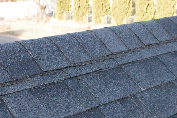 asphalt shingle ridge cap