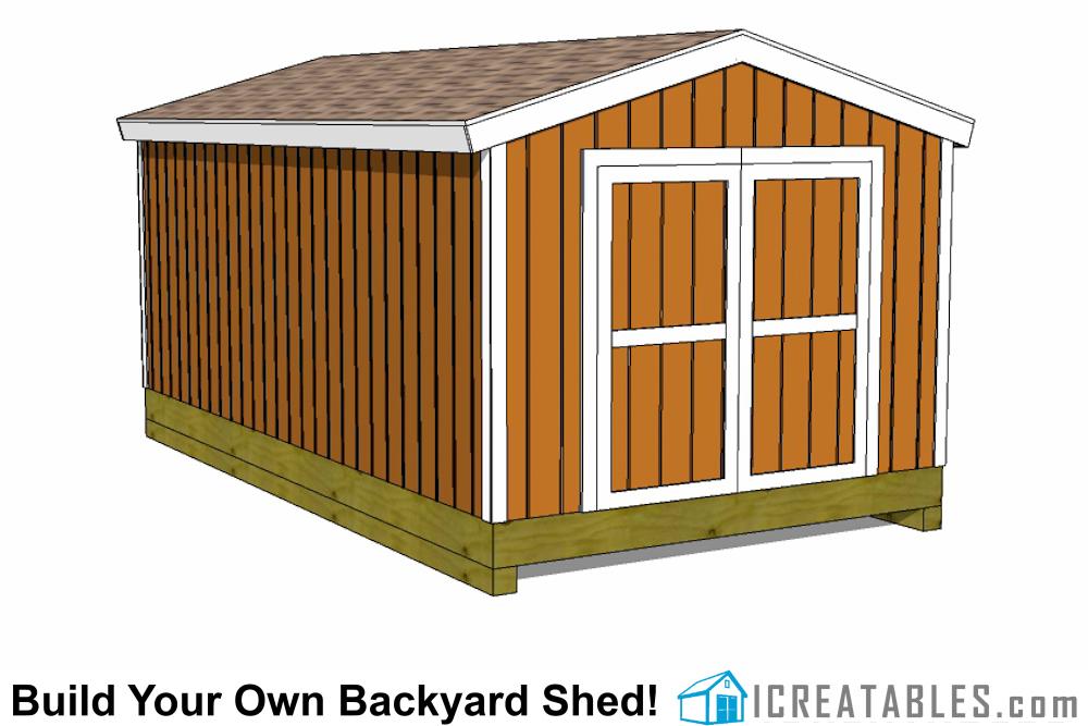 Backyard Shed Plans - Backyard Storage and Shed Plans ...