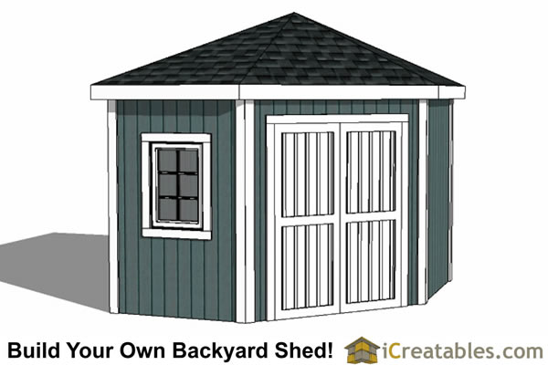 Garden Sheds Building Plans shed plans: how to build a shed | icreatables