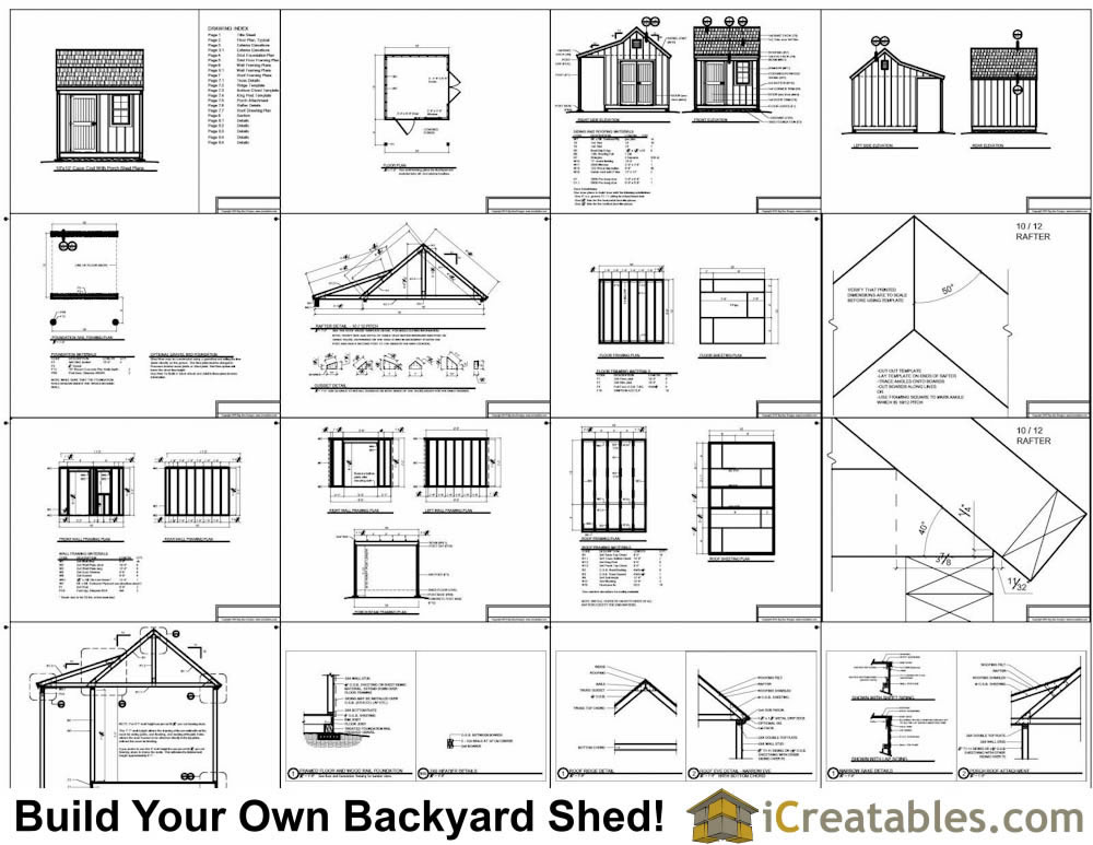 10x10 shed plans with porch cape cod shed new england for Free shed design software with materials list