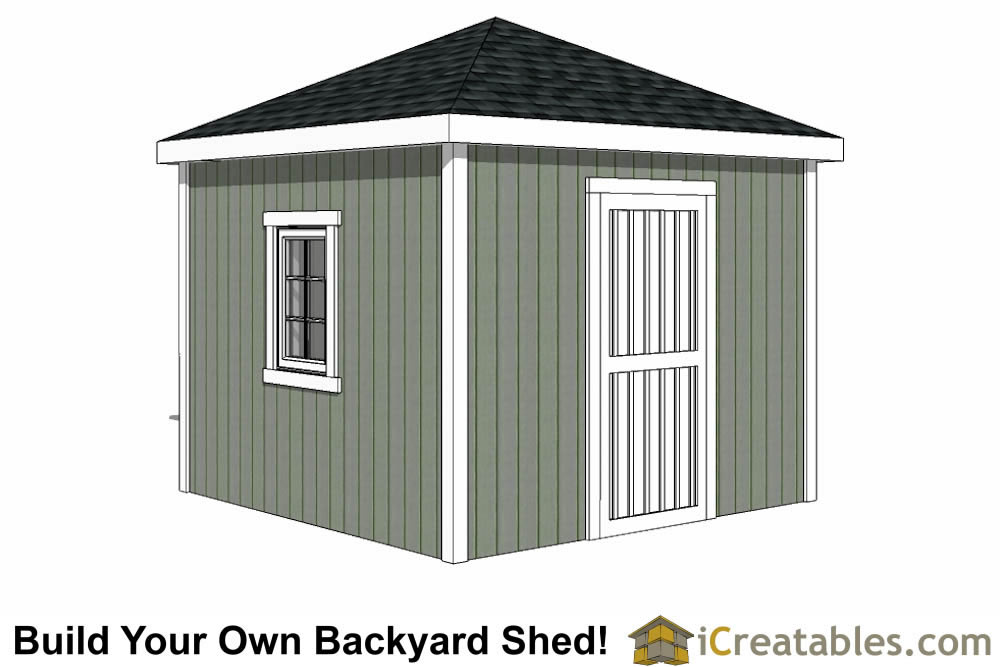 Lumber List For 10x12 Shed