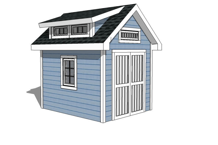 10x10 Shed Plans Storage Sheds Amp Small Horse Barn Designs
