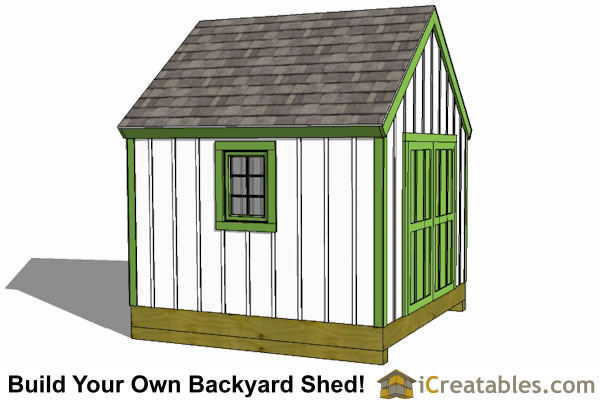 10x10 shed plans storage sheds small horse barn designs for Cape cod shed plans