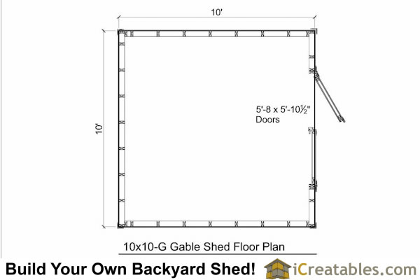 Do It Yourself Home Design: Do It Yourself Garden Bench Plans, Shed Plans On Concrete