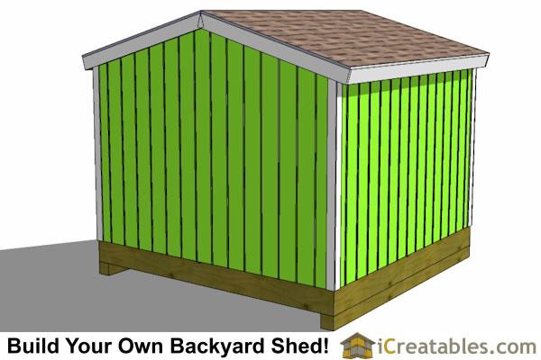 Image Result For Shed Plans On Slaba