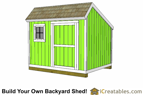 10x10 Salt Box Shed
