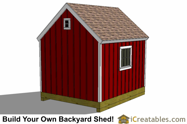 10x12 barn shed plans for 10x12 shed plans with garage door