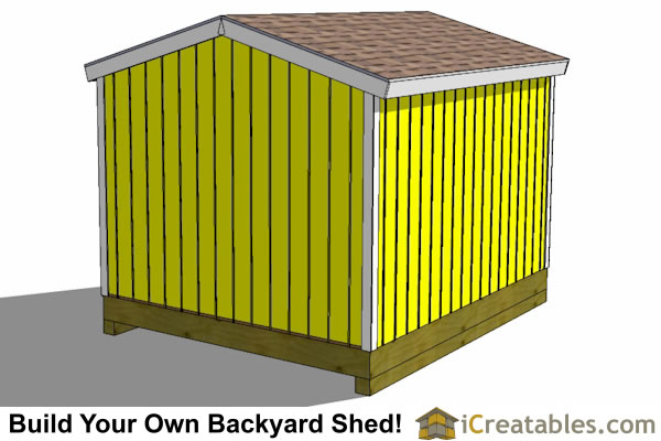 10x12 backyard storage shed top