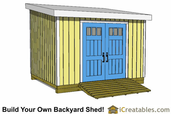 10x12 lean to shed plans