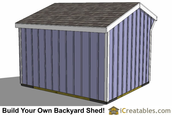 10x12 run in shed rear