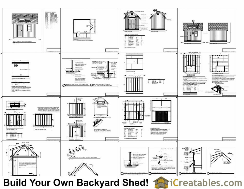 10x12 shed plans with dormer for Free shed design software with materials list
