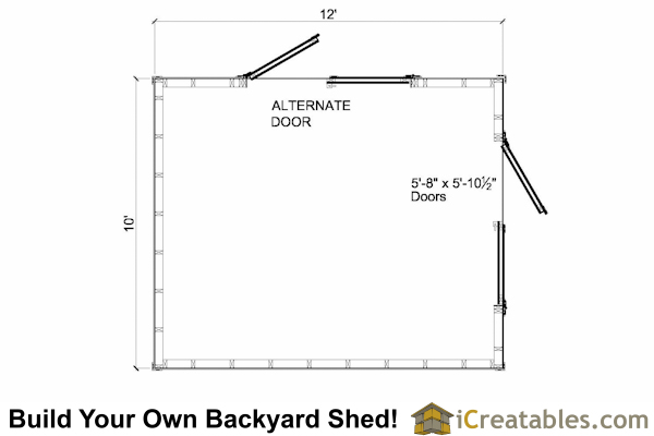 how to build a cost effective shed