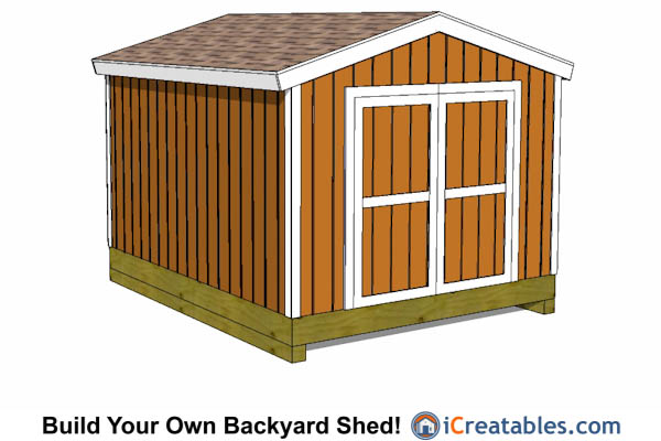 10x12 shed plans building your own storage shed for Gable storage shed plans