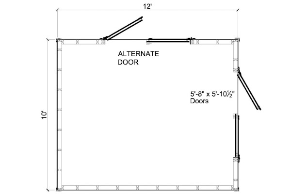 Shed Plans With Concrete Floor