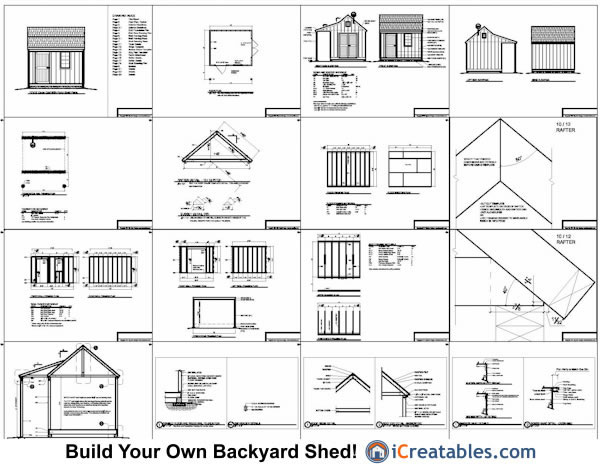 10x12 shed plans with porch cape cod shed new england for Shed plans and material list free