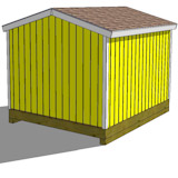 10x12 tall storage shed top