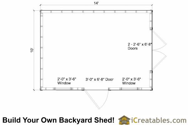 10x14 strew floor