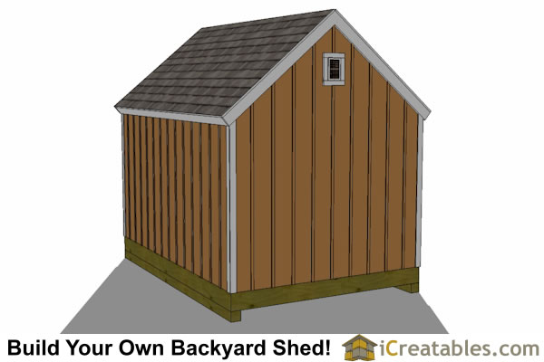 10x14 garden shed plan top
