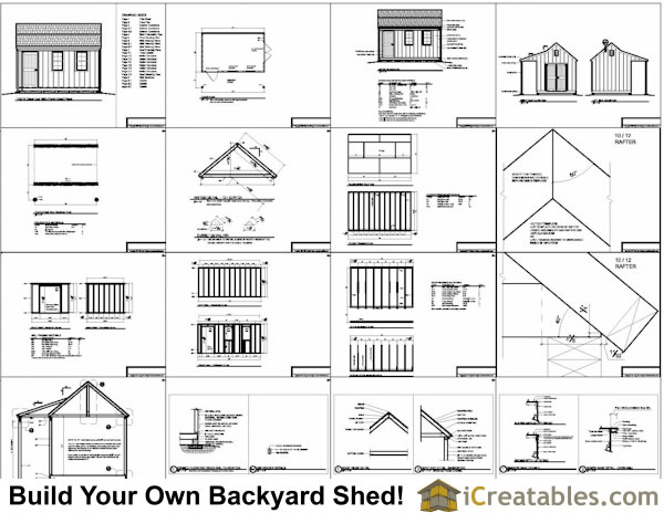 Swell 10X16 Cape Cod Shed Plans With Porch Largest Home Design Picture Inspirations Pitcheantrous