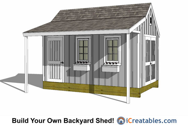 zekaria horse tack shed plans here