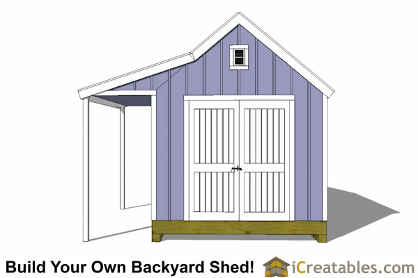 10x16 garden shed new england style