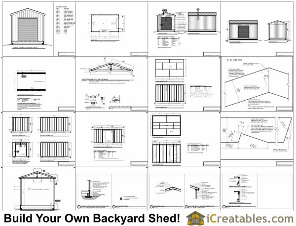 how to build a 10x16 shed
